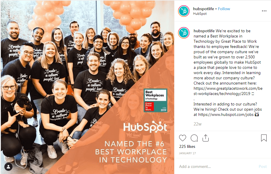 Group of smiling employees