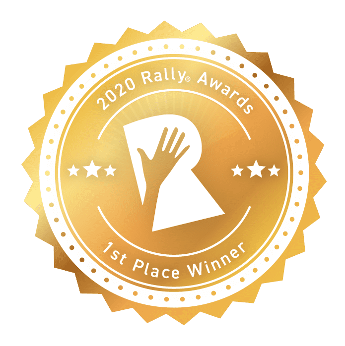 Rally Awards 2020 First Place Winner
