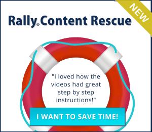 Rally Content Rescue course